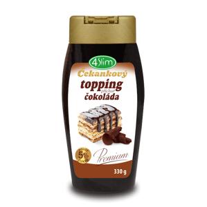 4Slim - Čakankový topping čokoláda, 330 g