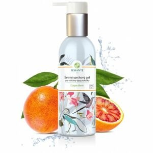Naturalis - Šetrný sprchový gel pro všechny typy pokožky Carpe diem BIO, 200 ml