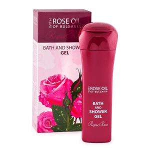 Regina Floris - Sprchový gel s růžovým olejem, 230 ml