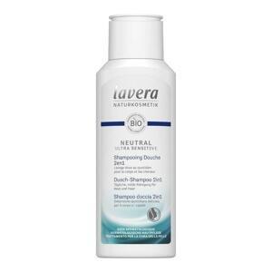 Lavera - Neutral ultra sensitive sprchový šampon na tělo a vlasy 2v1, 200 ml