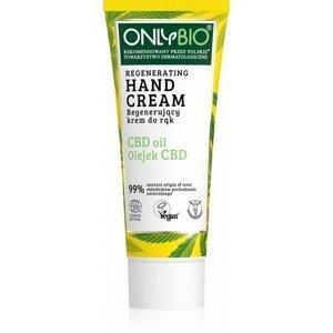 OnlyBio - Regenerační krém na ruce s konopím a CBD olejem, 75 ml