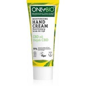 OnlyBio - Hydratační krém na ruce s konopím a CBD olejem, 75 ml