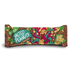 LifeLike - Protein Bar - Proteinová tyčinka Salted Peanuts & Chocolate, 50g