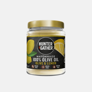 HUNTER & GATHER - Keto majonéza z olivového oleje s citronovou příchutí, limitovaní edice, 175 g