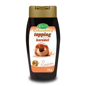 4Slim - Čakankový topping slaný karamel, 330 g