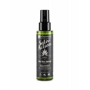 laSaponaria Pánský deodorant ve spreji s konopím BIO, 100 ml