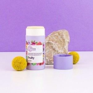 Kvitok tuhý dezodorant SENSES - Fruity, 42 ml