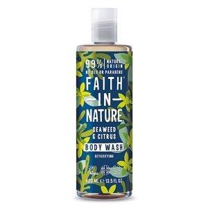 Faith in Nature - Sprchový gel Mořská řasa, 400 ml