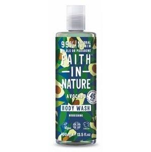Faith in Nature - Sprchový gel Avokádo, 400 ml