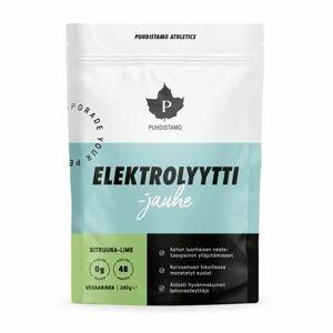 Puhdistamo - Electrolyte Powder 240g lemon lime