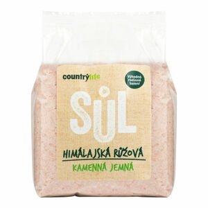 CountryLife Himalájská sůl růžová jemná 1kg