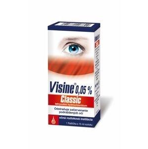 VISINE Classic 0,05 % očné kvapky, 1x15 ml