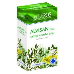 Leros ALVISAN NEO čajová zmes na zníženie krvného tlaku 20 x 1,5 g