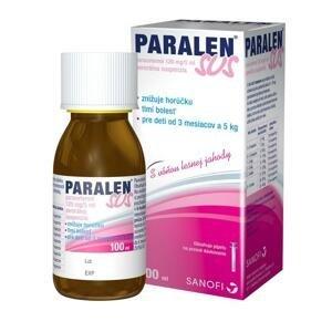 PARALEN SUS suspenzia, 100 ml