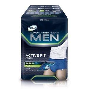 TENA Men Pants Plus L (Blue) pánske inkontinenčné spodné prádlo, modré 1x8 ks