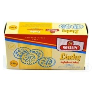 Limky Diétne keksy vanilkové bezlepkové, neplnené 150 g