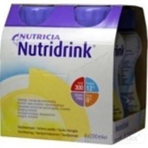 NUTRIDRINK banánová príchuť 4 x 200 ml
