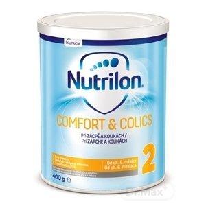 Nutrilon 2 COMFORT & COLICS špeciálna mliečna výživa v prášku následná (od ukonč. 6. mesiaca) 1x400 g