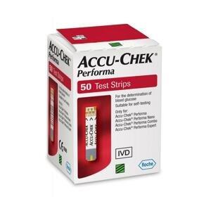 Accu Chek Performa prúžků 50 ks