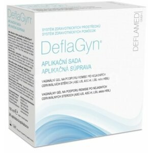 DeflaGyn Aplikačná sada Vaginálny gél 150 ml + 28 aplikátorov