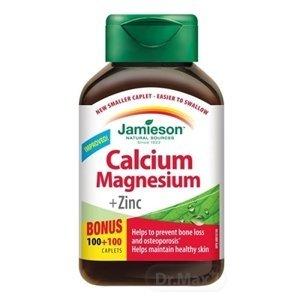 Jamieson Calcium Magnesium so Zinkom 120 tabliet