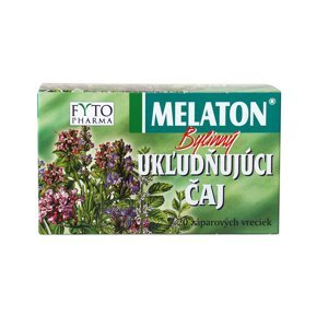 Fyto MELATON bylinný UKĽUDŇUJÚCI čaj 20 x 1,5 g