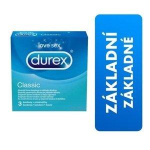 DUREX Classic kondóm 1x3 ks