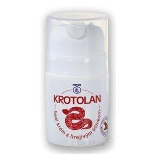 KROTOLAN 1×50 ml, hadí krém s hrejivým účinkom