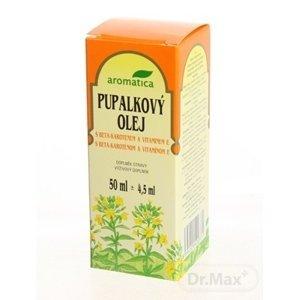 Aromatica pupalkový olej s beta-karotenem a vitamínem E 50 ml