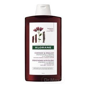 KLORANE SHAMPOOING À LA QUININE ET AUX VITAMINES B posilňujúci vlasový šampón s chinínom a vitamínmi B 1x400 ml