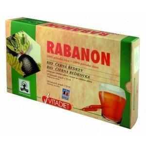 Vitadiet RABANON liq por (amp.) 20x10 ml