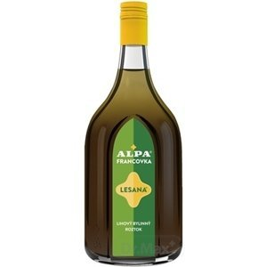 Alpa Francovka lihový bylinný roztok Lesana 1000 ml