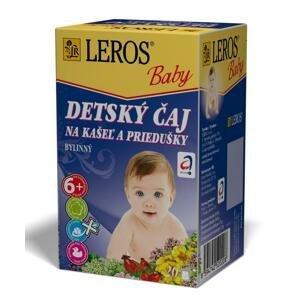 Leros Baby na kašel a priedušky 20 x 1,5 g