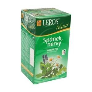 LEROS NATUR SPÁNOK, NERVY ČAJ 20×1,3 g, čaj