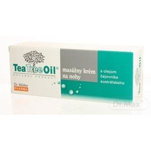 Dr. Müller Tea Tree Oil MASÁŽNY KRÉM NA NOHY 1x150 ml, krém na nohy