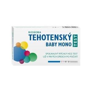 BABY TEST MONO tehotenský test prúžok 1×1 ks, tehotenský test prúžok