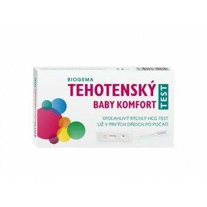 BABY TEST DUO 1×2 ks, tehotenský test, samodiagnostický