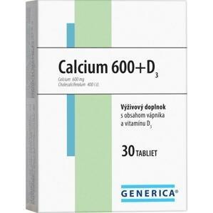 Generica Calcium 600 D3 30 tabliet