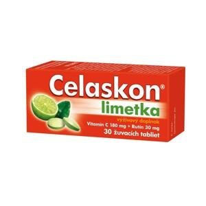 Zentiva Celaskon ochutené tablety limetka 30 ks