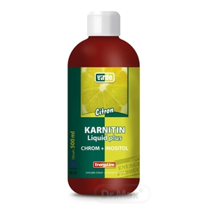 Virde L-KARNITIN Liquid plus chróm   inositol 500 ml