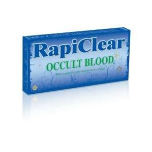 RapiClear OCCULT BLOOD IVD test na samodiagnostiku, 1x1 set