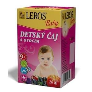 Leros Baby s ovocím 20 x 2 g