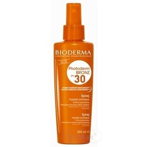 Bioderma Photoderm Bronz olej spray SPF30 200 ml