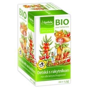 Apotheke BIO Dětský bylinný s rakytníkem 20 x 1,5 g