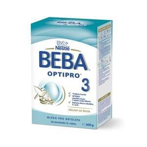 BEBA OPTIPRO 3 následná výživa dojčiat (od ukonč. 12. mesiaca) 1x600 g