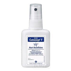 BODE Cutasept F 1×50 ml, bezfarebný alkoholový dezinfekčný prostriedok na kožu