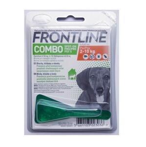FRONTLINE Combo Spot-On pre psy S 1×0,67 ml, roztok