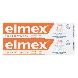 ELMEX Caries protection DUO 1×150 ml, posilňuje zubnú sklovinu a odolnosť (2×75 ml)
