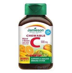 Jamieson Vitamín C 500 mg mix 120 tabliet