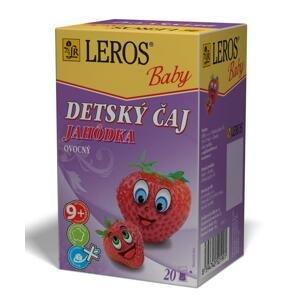 LEROS BABY DETSKÝ ČAJ JAHÔDKA ovocný 20x2 g (40 g)
